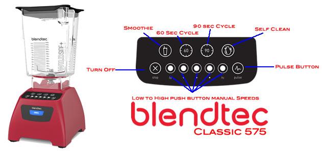 Nút Bấm Blendtec Total Classic